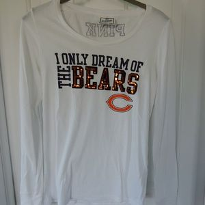 VS Pink Chicago Bears long-sleeved top